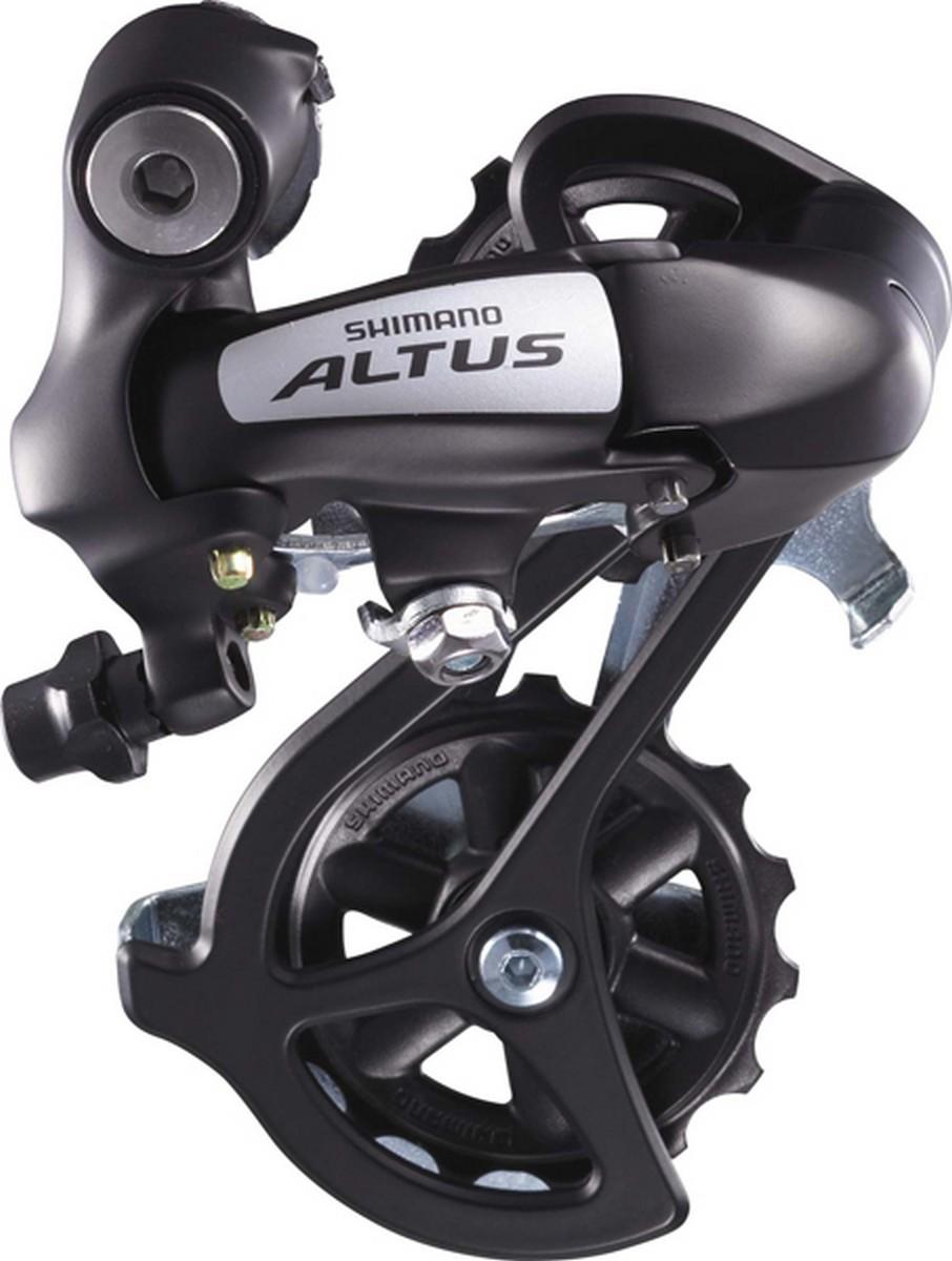 Перемикач задній Shimano Altus RD-M310 7/8 швидкостей довгий важіль чорний - Велосипед Ком