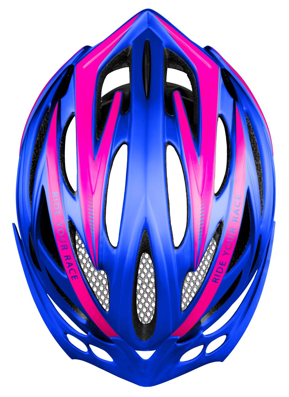 Шолом R2 Arrow синій/рожевий