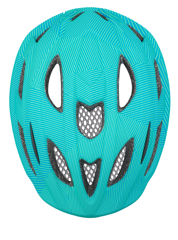Шолом дитячий R2 Bondy блакитний/зелений